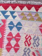Tapis vintage Afghan fait main, 1Q0169