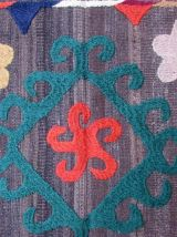 Tapis vintage Afghan fait main, 1Q0176