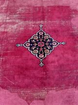 Tapis ancien Persan Mashad fait main, 1Q0177