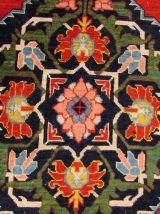 Tapis vintage Caucasien Karabagh fait main, 1Q0181