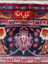 Tapis vintage Persan Kashan fait main, 1Q0188