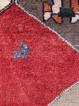 Tapis vintage Persan Gabbeh fait main, 1Q0197