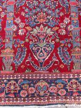 Tapis ancien Persan Kashan fait main, 1Q0198
