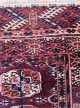 Tapis ancien Turkmène Tekke fait main, 1Q0202