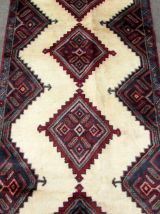 Tapis vintage Persan Hamadan fait main, 1Q0211
