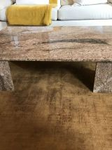 Superbe table basse marbre 1978