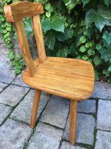 Paire de chaises scandinaves années 80