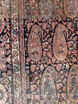Tapis ancien Persan Senneh fait main, 1Q0218