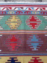 Tapis vintage Turc Anatolian fait main, 1Q0223
