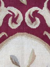 Tapis vintage Français Aubusson fait main, 1Q0247