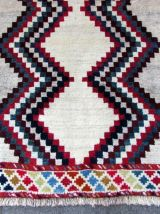 Tapis vintage Persan Gabbeh fait main, 1Q0261