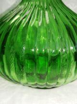 Ancienne carafe bouteille verte