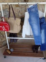Portant-vêtements industriel