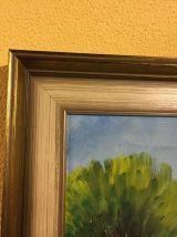 Peinture A l'huile sur toile / Les Calanques