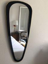 Miroir rétroviseur vintage 1960 - 90 x 40 cm