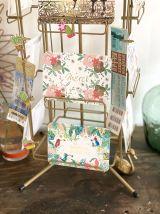 Présentoir tourniquet cartes postales vintage