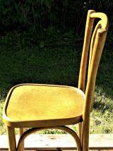 Chaise de bistrot en bois