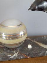 Lampe de table   Art Déco