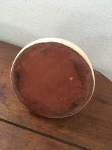 Pichet en terre cuite vernissée.