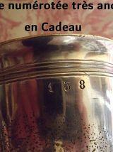 Sucrier et 1 Coquetier CHRISTOFLE  anciens en métal argenté
