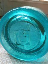 Siphon Lyon Ferrand bleu ancien