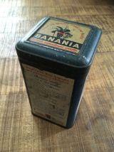 Boîte tôle lithographiée BANANIA Période Bleue