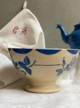 Bol ancien porcelaine de Gien