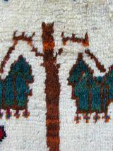 Tapis vintage Persan Gabbeh fait main, 1Q0270