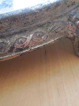 ancien dessous de plat  carreau en faïence  marque Paris
