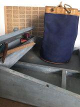 Petit sac d'écolier, vintage