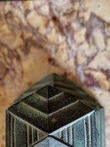 encrier art déco sur marbre ancien