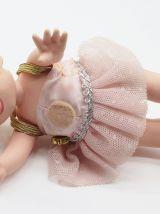 Lot de 3 poupées triplés