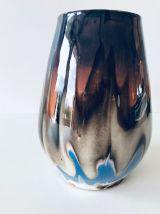 Vase ancien en céramique émaillée