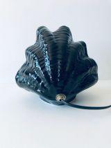Lampe coquillage en céramique des années 60
