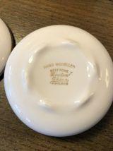 Bonbonnière Porcelaine Anglaise - Vintage