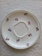 Tasse & sous tasse Porcelaine de Limoges. G.BOYER 1934