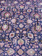 Tapis vintage Persan Mashad fait main, 1Q0286