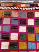 Tapis vintage Persan Gabbeh fait main, 1Q0295