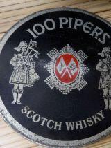 Seau à glace vintage publicitaire   whisky Seagram's 100 pip