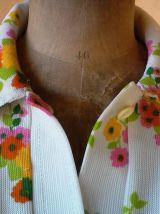 Robe été 70's aux couleurs peps