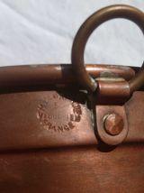 moule a gateau en cuivre étamé , vintage
