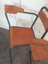 Lot de 4 chaises Stella vintage années 50