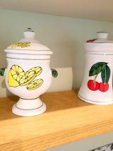 4 pots en céramique