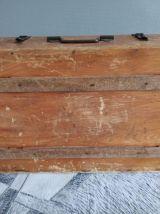 valise ancienne en bois