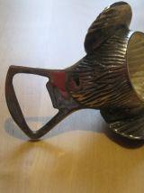 Décapsuleur/ouvre-bouteille en forme d'oiseau en métal