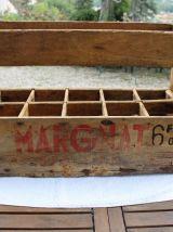 Casier caisse à vin Margnat années 60