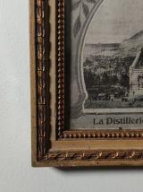 """Affiche publicitaire """"Bénédictine"""" 1906"""