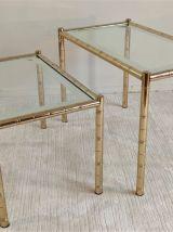 Magnifiques tables gigognes et d'appoint 70'S LANCEL