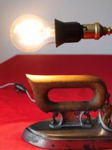 lampe création, fer à repasser Calor années 30