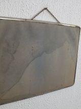 Miroir de barbier carton vintage 1960 - 40 x 30 cm